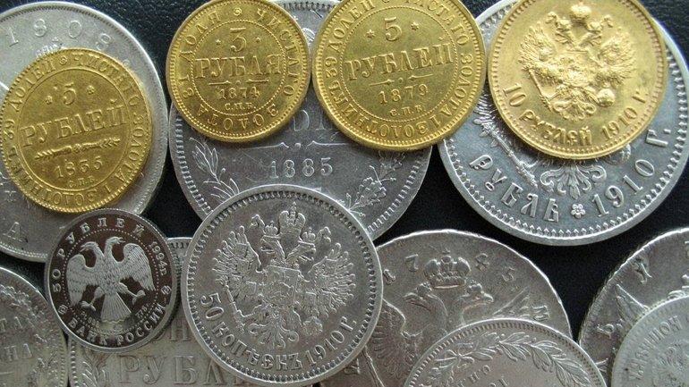 Из Украины пытались вывезти крупную патрию старинных монет - фото 1