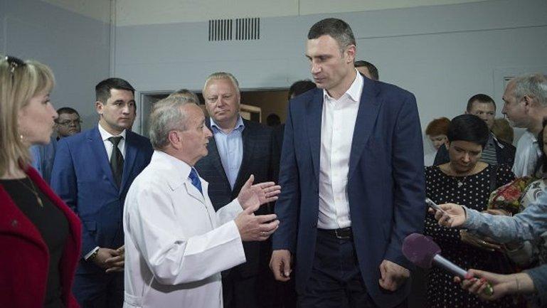 Кличко угодил в больницу Австрии - фото 1