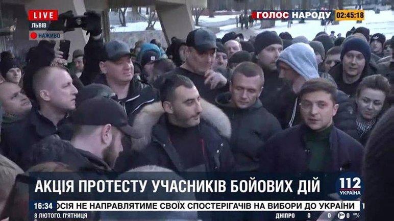 Зеленского сопровождал постоянный охранник Коломойского - фото 1