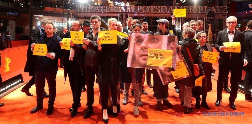 На фестивале Берлинале встали на защиту Сенцова - фото 1