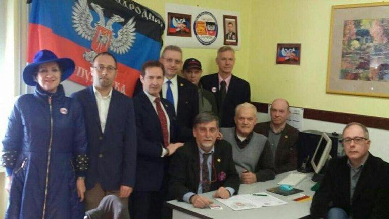 """Итальянские ватники открыли представительство """"ДНР"""" в Вероне - фото 1"""