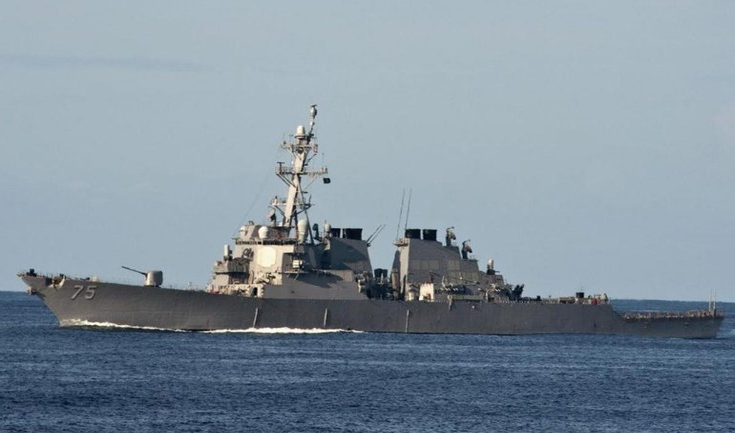 USS Donald Cook следует в один из портов Черного моря - фото 1
