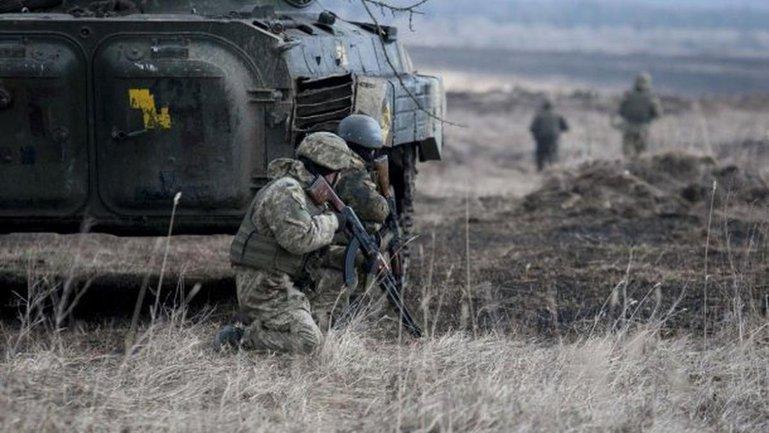 Украинские военные разваливали террористов ответным огнем - фото 1