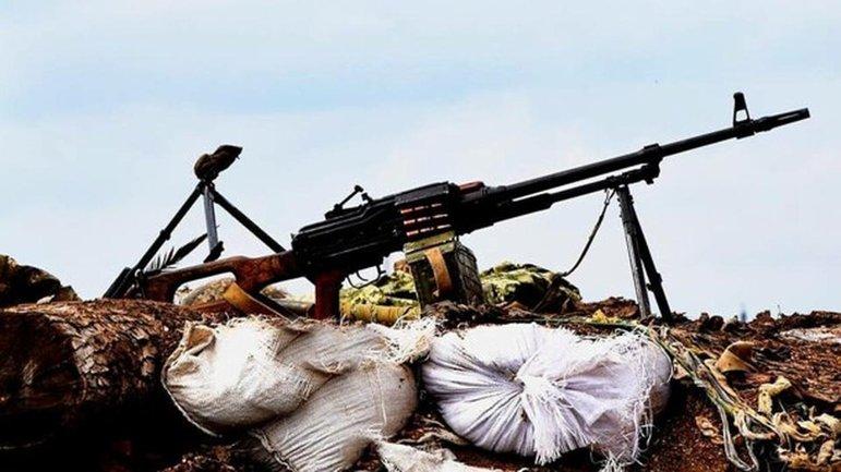 Российские террористы ведут постоянные обстрелы позиций сил ООС - фото 1