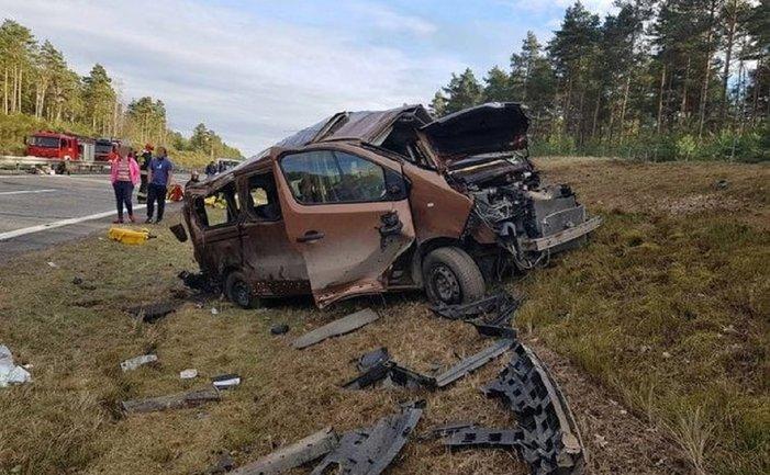 В Польше пострадали ехавшие из Штатов военные - фото 1