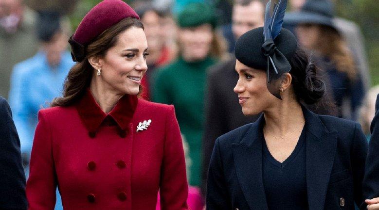 Кейт Миддлтон и Меган Маркл посетят прием королевы - фото 1
