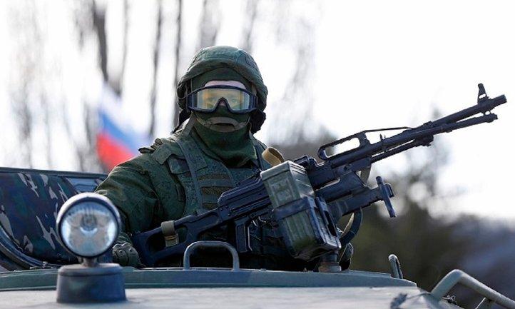 Русские наемники на Донбассе потеряли БМП - фото 1