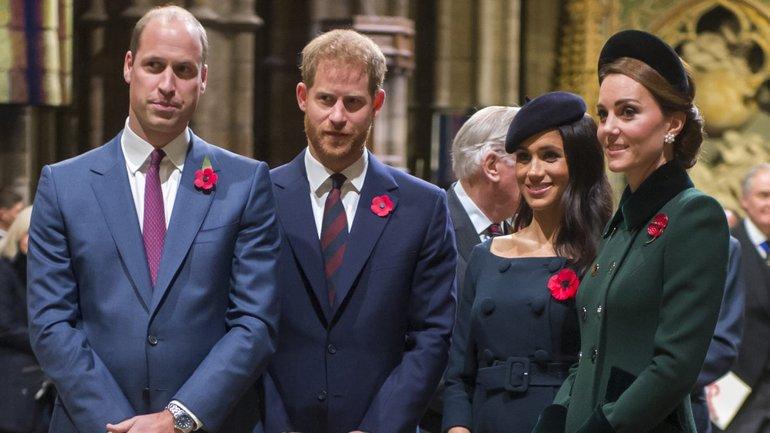 Меган Маркл и принц Гарри отделяются от Кейт Миддлтон и принца Уильяма - фото 1