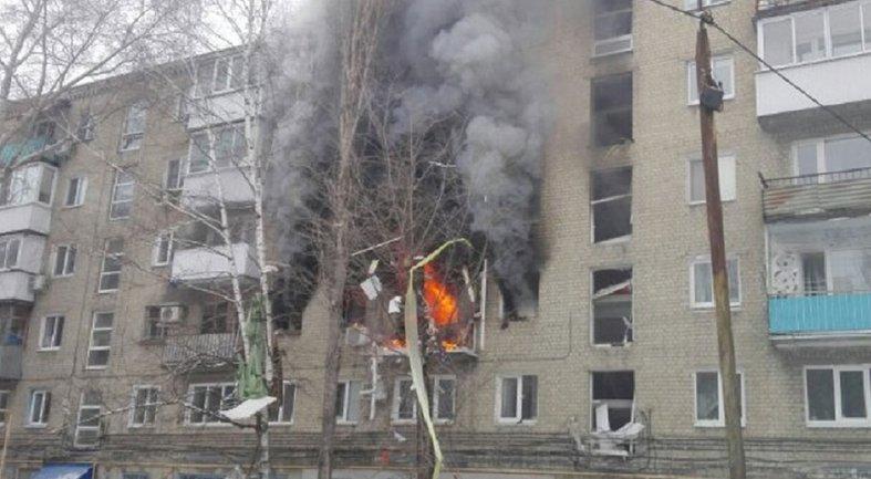 В центре Донецка прогремел взрыв в пятиэтажке - фото 1