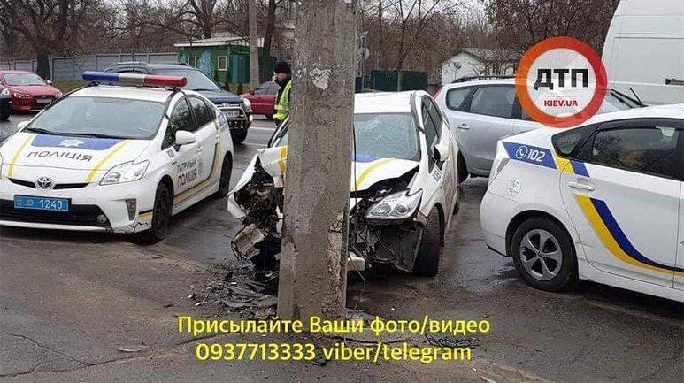 Водитель-патрульный заснул за рулем - фото 1