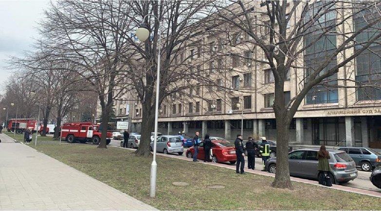 В Запорожье заминировали суд - фото 1