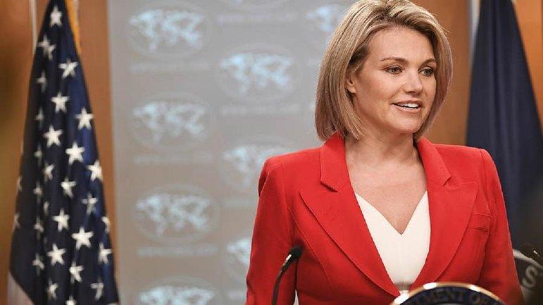 Пресс-секретарь Госдепа отказалась от своего поста - фото 1
