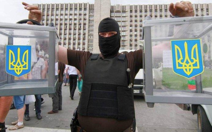 Оставил веревку и мыло: как украинцы протестуют против выборов - фото 1