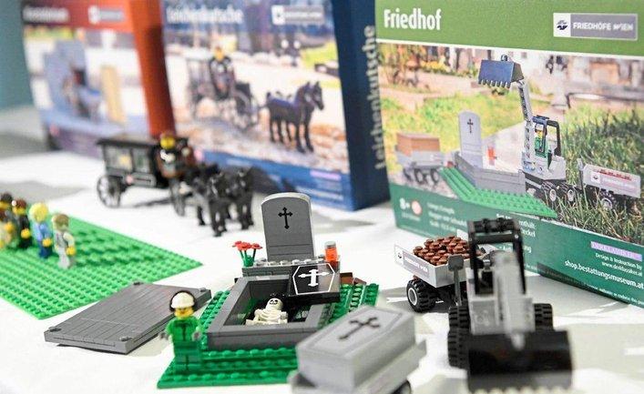 Lego представила похоронные наборы  - фото 1