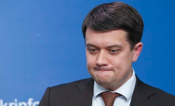 """Разумков наехал на """"Самопоміч"""" из-за закона """"О президенте"""" - фото 1"""