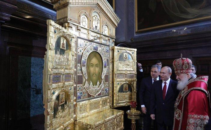 Путина потянуло на божественные метафоры - фото 1
