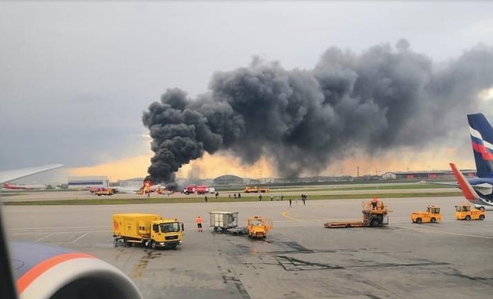 Пожар самолета Аэрофлота забрал 41 жизнь - фото 1