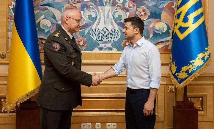 Зеленский назначил Хомчака главой Генштаба - фото 1