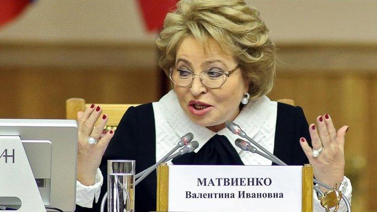 Матвиенко хочет дружбы с Украиной - фото 1