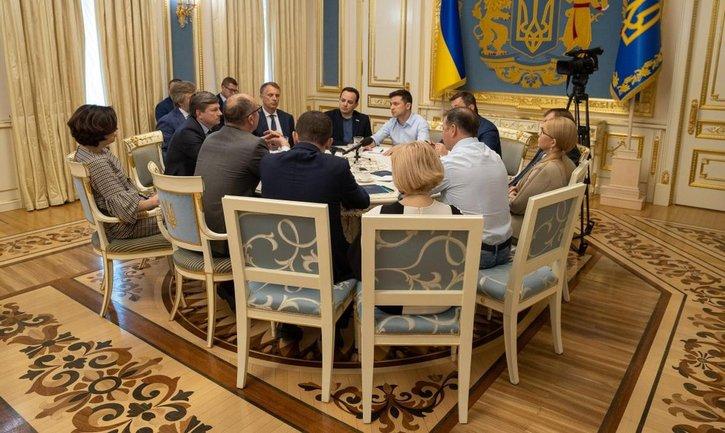 У Зеленского скрыли данные о переговорах с нардепами - фото 1
