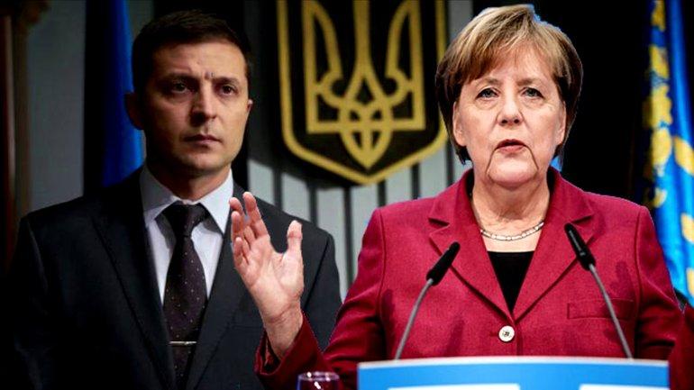"""Зеленский прибыл в Берлин: обсудит с Меркель войну и """"новые экономические перспективы"""""""