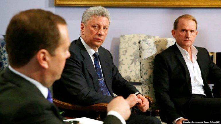 Медведчук поклонился Медведеву. Опять  - фото 1