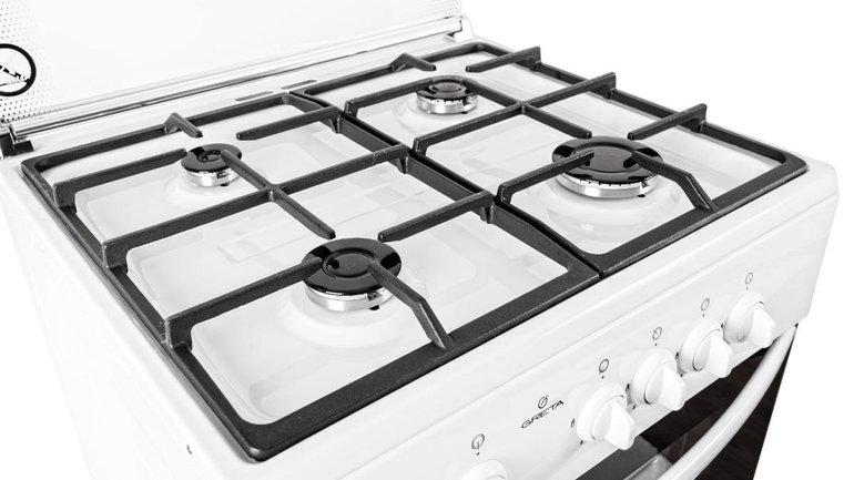 Для того, чтобы пользоваться газовой плитой было приятно, достаточно лишь поменять решетку - фото 1