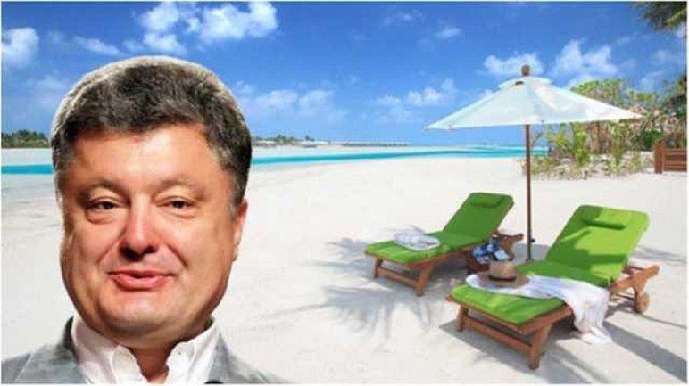На Порошенко открыли дело. Виноваты Мальдивы и не только  - фото 1