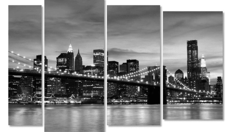Модульные картины - отличный способ придать оригинальности дизайну - фото 1