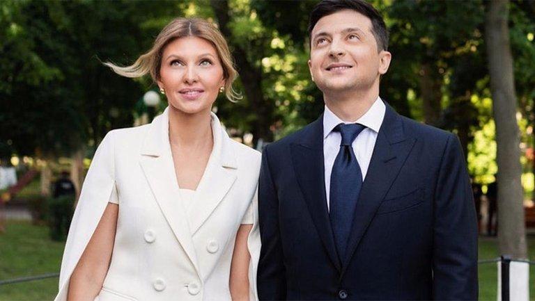 Елена Зеленская пиарит Дафну Майберг - фото 1