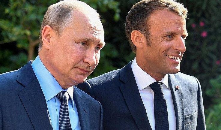 """Макрон устроил Путину """"теплую ванну"""" - фото 1"""