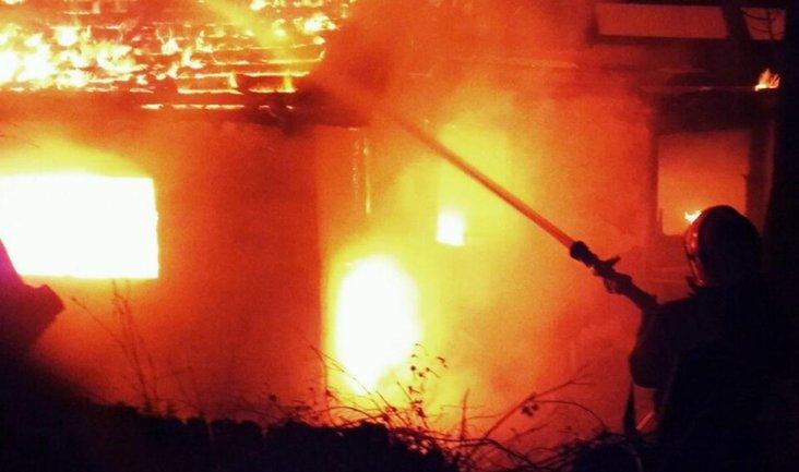 Дом Гонтаревой подожгли неизвестные - фото 1