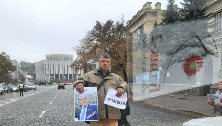 Инвесторы блокируют проезд машин по улице Грушевского - фото 1