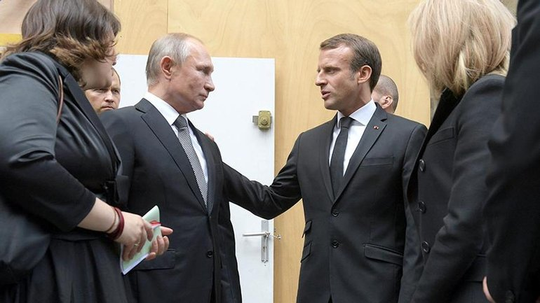 Макрон открыто топит за Путина - фото 1
