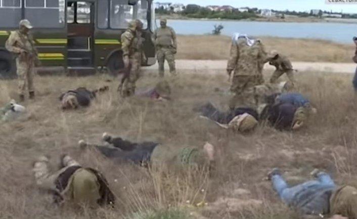 Российские морпехи с удовольствием издевались на пропагандистами - фото 1