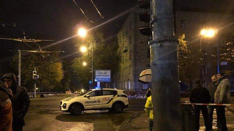 В центре Днепра чуть не упало общежитие - фото 1
