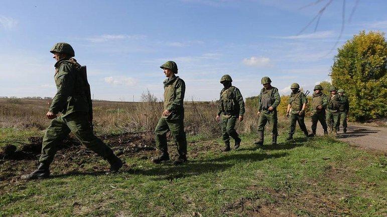 Российские террористы готовят новые укрепрайоны в Золотом и Петровском - фото 1