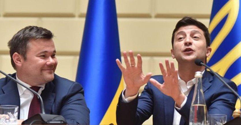 """У Зеленского отреагировали на встречу с """"крестным отцом"""" - фото 1"""