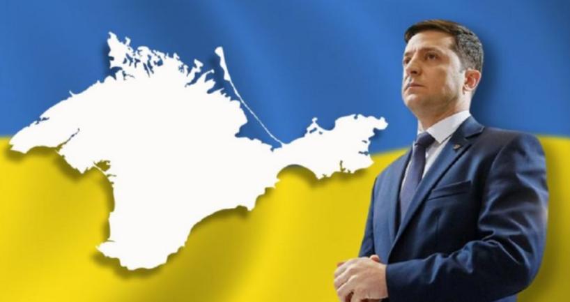 Зеленский рассказал, как вернуть Крым  - фото 1
