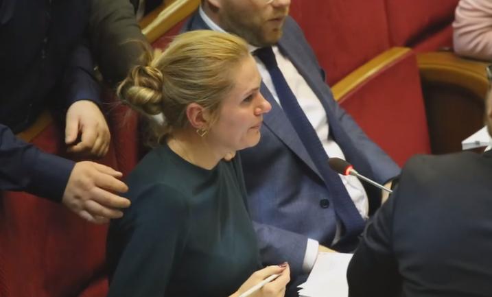 Анна Скороход расплакалась из-за того, что партия гнет свою линию - фото 1
