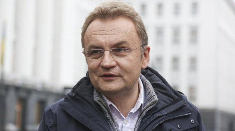 Андрею Садовому избирают меру пресечения под крики титушек - фото 1