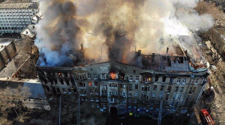 В Одессе нашли тело второй погибшей при пожаре женщины - фото 1