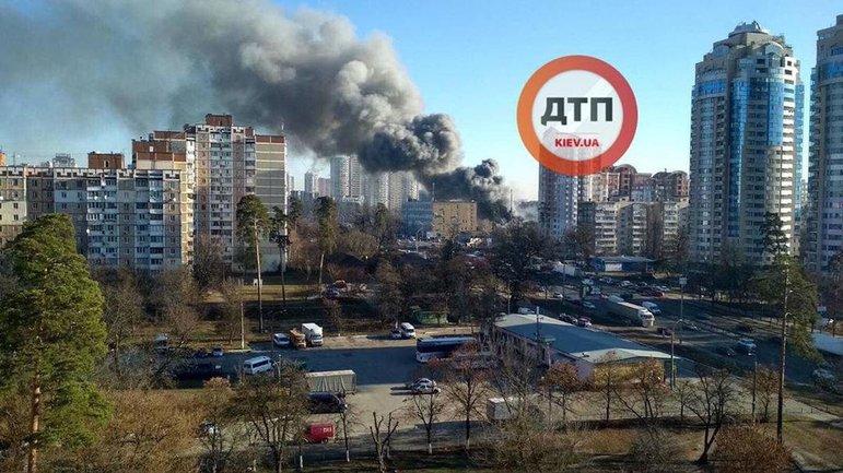 Пожар в Святошинском районе Киева потушили за несколько часов - фото 1