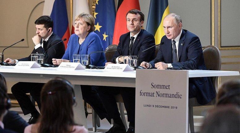 """Зе команда подправила итоговый документ саммита """"нормандской четверки"""" - фото 1"""