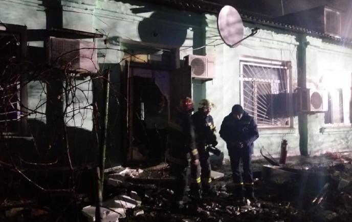 На Луганщине горел психдиспансер, есть погибшие - ФОТО - фото 1