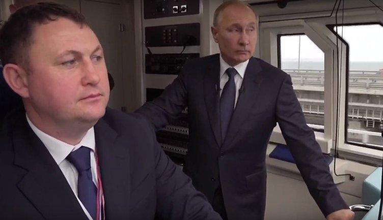 Путин поехал. В поезде на Крымском мосту – ФОТО, ВИДЕО  - фото 1