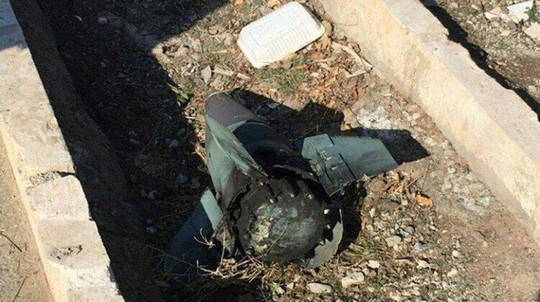 """Кусок ракеты от """"Тора"""", якобы найденный на  - фото 1"""
