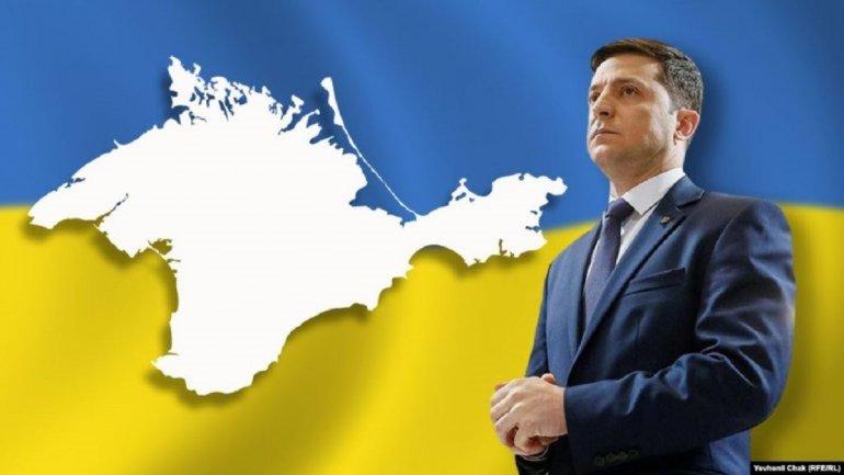 Зеленский: Возвращение Крыма – часть нашей идеи  - фото 1