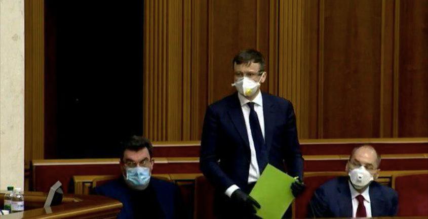 Впервые министров избрали в масках - фото 1
