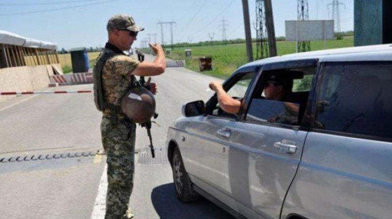 В первый день работы КПВВ контрразведчики задержали молодого террориста - фото 1